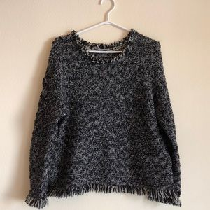 Banana Republic | Fringe Knitted Sweater